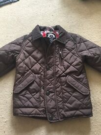 Boys Barbour style coat age 2-3yrs