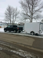 HAULING, MOVING, EAVESTROUGH GUTTER CLEANING, ODD JOBS  and more