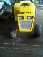 Cub Cadet 147 Project Lawn Tractor - john deere 318 blower