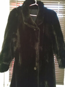 Beautiful Faux mink coat for Christmas