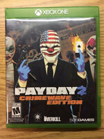 Payday 2 xbox one few times played