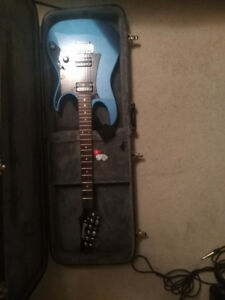 Ibanez Guitar and Marshall Amp