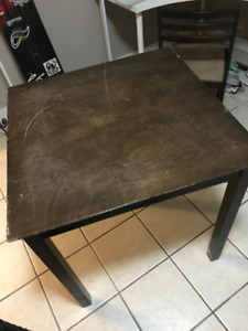 Dining Table and matching Chairs