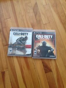 COD Aw and Bo3 on ps3