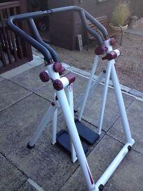 Air walker / walking machine.