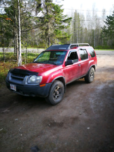 02 nissan xterra parting out