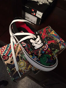 Brand new Vans Superhero shoe, Child Size 12