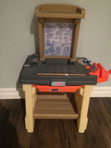 Step 2 Toddler Work Bench With Accessories