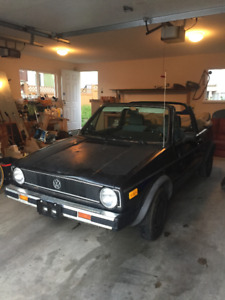 1986 VW Cabriolet   Must Sell!