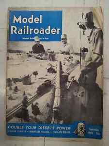 Vintage Electric Model Train  Railroader Magazines