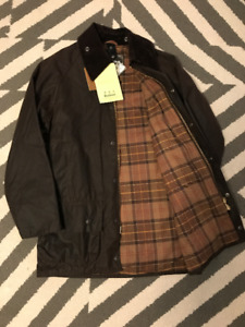 Barbour Beaufort Rustic Size 34