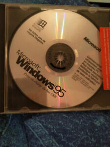 Logiciel CD windows 95 Microsoft