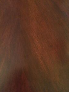 Beautiful cherrywood dinning room table with 5 chairs