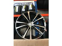 18 BMW wheels Alloys Rims 1 2 3 series vauxhall insignia 120 pcd 5x120