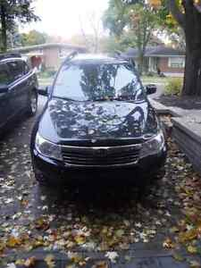 2009 Subaru Forester X Limited; Performance New Winter Tires inc