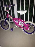 Girls bike 5 years and under