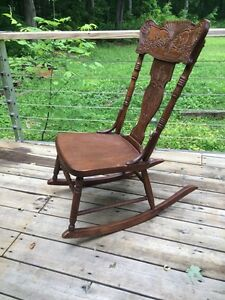 Antique Rocking Chair Peterborough Peterborough Area image 2
