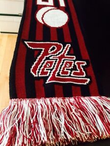 OHL Peterborough Petes hockey scarf