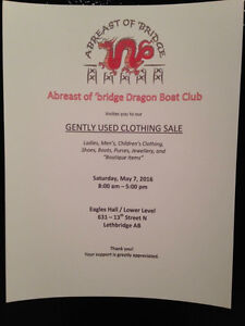 Gently Used Clothing and Accessory Sale
