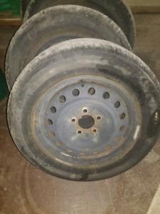 Winter Snow Tires dodge Caravan 225 60 16