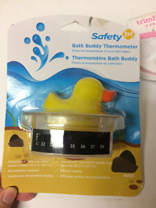 NEW Safety First Bath Thermometer