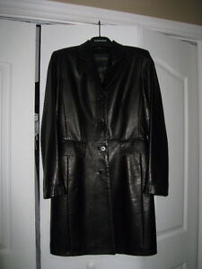 Danier Leather Black Lambskin Jacket