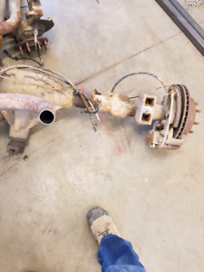 2002 chev 8 bolt rear end also front differential