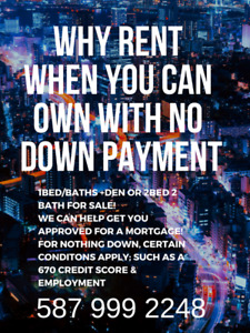 NO DOWN PAYMENT NO PROBLEM! OWN NOW