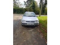Volkswagen Golf MK4 2002 1.9 PD Estate In Silver