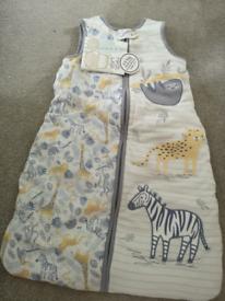 New baby sleeping bag 6-18 months 2.5 tog