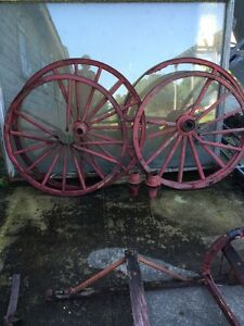 Antique buggy and sleigh parts