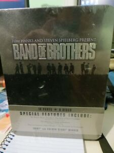 Band of Brothers-6 disc DVD Set in Tin case- Unopened