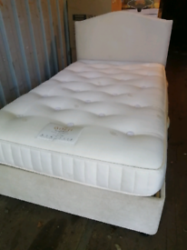 Electric single bed with mattress