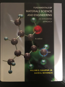 Selling Material Science Textbook - Callister, 4th Ed.
