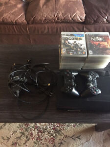 500GB PS3 + 20 Games 2 Controllers