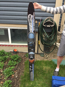 "Used 65"" Double boot Slalom Water Ski"