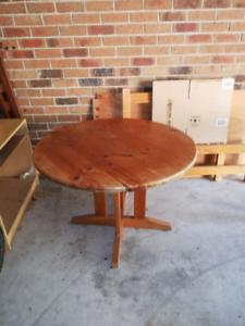 Hardwood Timber Table
