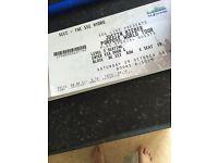 Justin bieber seating ticket