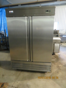 Two Door Stainless Steel Cooler / Industrial / Omcan