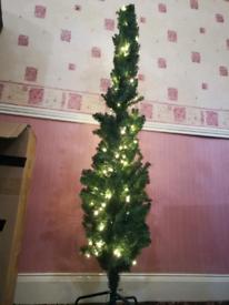 Prelit-pencil Christmas Tree