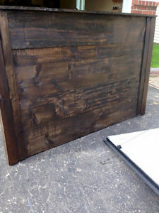 SALE! Custom Reclaimed Wood Headboards