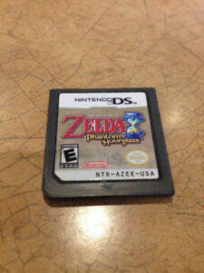 Zelda Phantom Hourglass - works on DS and 3DS consoles