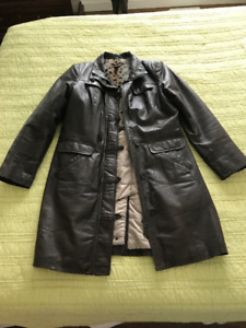 Beautiful Danier Leather Coat