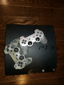 160 Gb PS3 Pro Slim with 8 games