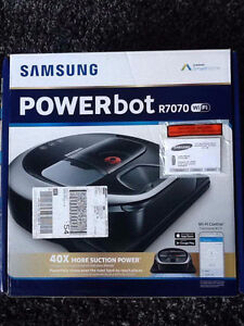 SAMSUNG POWERBOT R7070 SELF CLEANING VACUUM - BRAND NEW