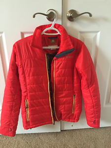 Red Columbia Omni-heat Women's Jacket