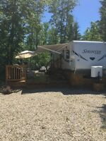 Trailer and land for sale