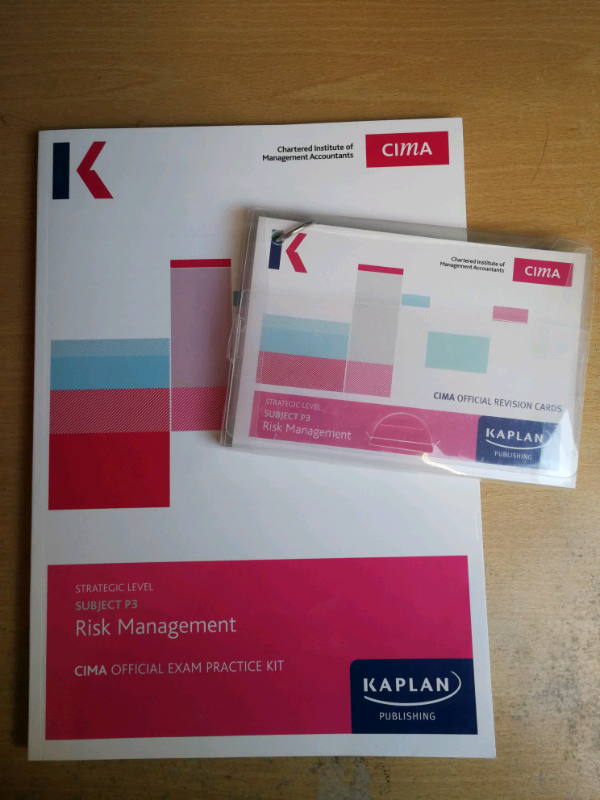 CIMA Strategic Level Risk Management Paper P3 - Exam kit and revision | in  St George, Bristol | Gumtree