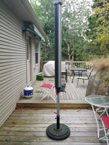 Large outdoor clothes dryer