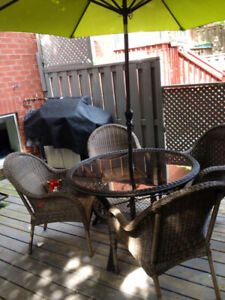 """Wicker patio furniture """"SET"""" (If listed it means available)"""